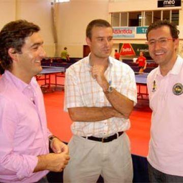Juan Gonçalves, Carlos León y Miguel Ángel Machado. (Foto: Cirilo Borges)