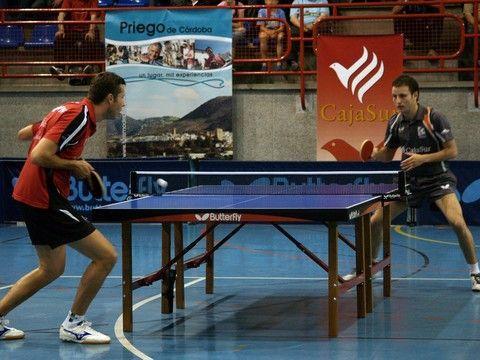 Samsonov y Machado durante un partido de la final del play-off de Superdivisión.