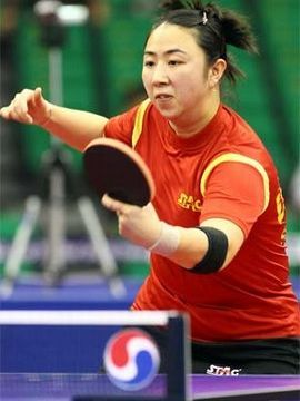 Yanfei Shen en el 2010 Pro Tour Grand Final. (Foto: An Sung Ho - www.ittf.com)