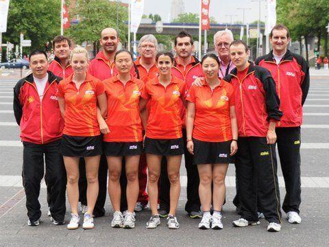 Equipo nacional que está particiapndo en el Mundial de Rótterdam 2011. (Foto: Juan Carlos Paramá)