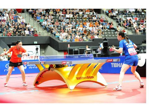 Yanfei Shen enfrentándose a Li Jiao. (Foto: Juan Carlos Paramá)