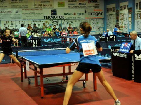Momento de la competición Infantil Femenina. (Foto: Alberto Cano)