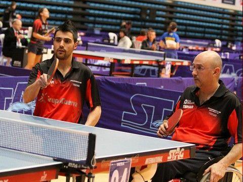 Francisco Javier López Sayago y Miguel Rodríguez en el pasado Campeonato de España celebrado en Almería. (Foto: Íñigo Villacieros)