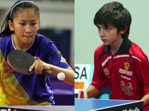 Sofía Xuan Zhang y Mikel Padial.
