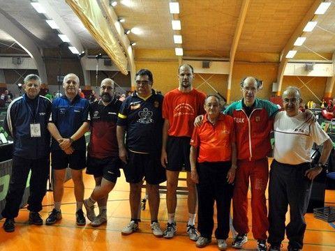 Foto de grupo de algunos de los representantes españoles en esta cita. (Foto: Iñaki Guelbenzu)