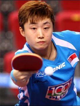 Feng Tianwei. (Foto: An Sung Ho en www.ittf.com)