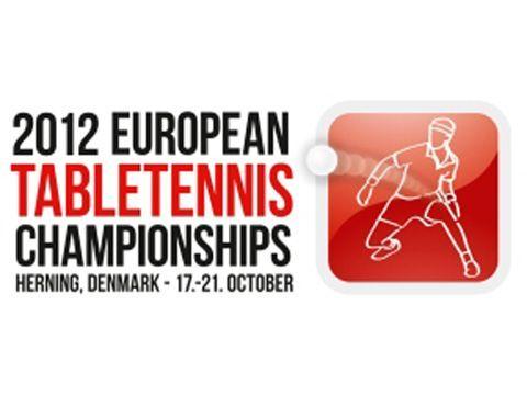 Logotipo de la Europena Championship 2012. Foto: ETTU)