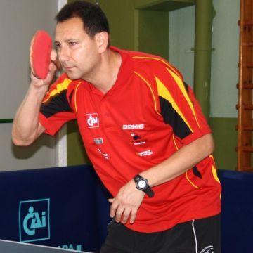 Jorge Gambra. Foto: (CAI Santiago Tenis de Mesa)