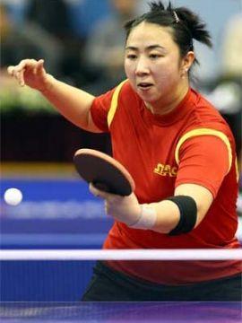 Yanfei Shen. (Foto: An Sung Ho en www.ittf.com)