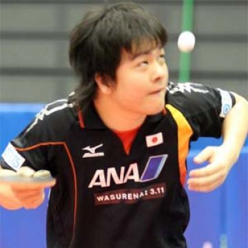 Kishikawa Seiya. (Foto Tetsu Yamashita en www.ittf.com)