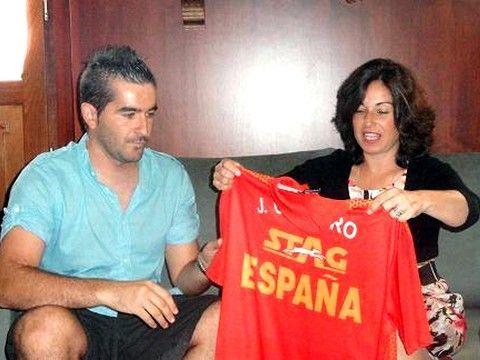 Jesús Cantero y Maribel Peinado. (Foto: www.puertorealweb.es)