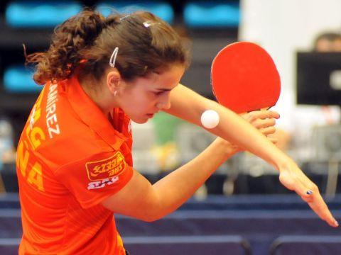 Sara Ramírez, integrante del equipo femenino que representa a España en la Universiada. (Foto: Pablo Rubio)