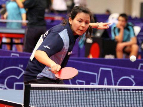 Anna Badosa, jugadora del equipo femenino que está representando a España. (Foto: Íñigo Villacieros)