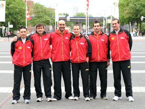 Equipo masculino que disputó el último mundial celebrado en Rótterdam. (Foto: Juan Carlos Paramá)
