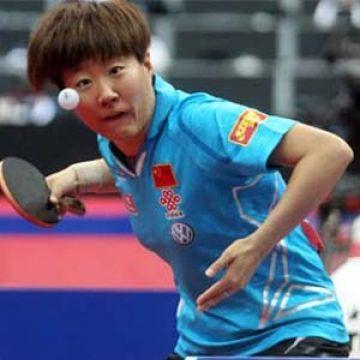 Guo Yan. (Foto: Rémy Gros en www.ittf.com)