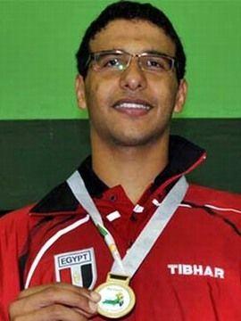 Omar Assar in Maputo. (Foto: Ganeshan Neelakantyer en www.ittf.com)