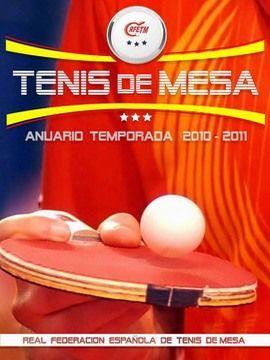 Portada del Anuario de la RFETM 2010-2011.