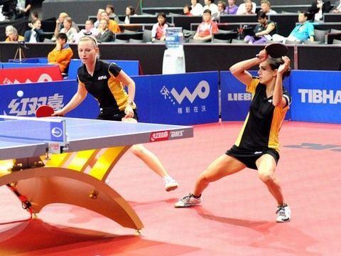 Galia Dvorak y Sara Ramírez en el pasado Mundial de Holanda. (Foto: Juan Carlos Paramá)