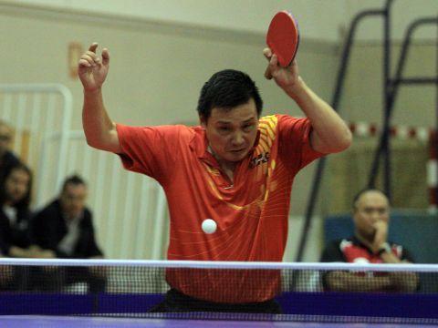 He Zhi Wen sumó dos de los puntos de hoy. (Foto: Íñigo Villacieros)