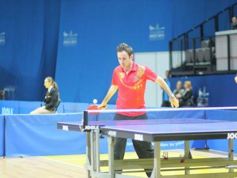 Ávaro Valera sumó una medalla de plata en equipos al oro conseguido en individual. (Foto: Gaël Marziou)