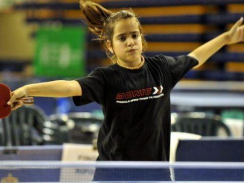 Nora Escartín en acción