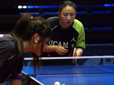 Yanfei Shen del UCAM Cartagena que qentre enescena en esta ronda.