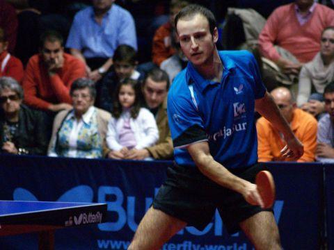 Carlos Machado, jugador del CajaSur Priego Tenis de Mesa.