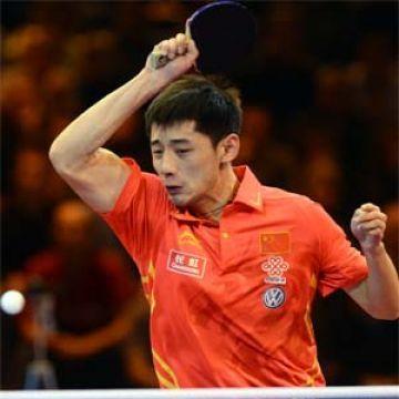 Zhang Jike. (Foto: Vincent Kovacs en www.ittf.com)
