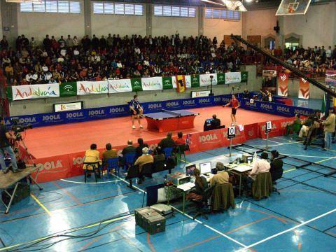 Imagen del partido disputado en Priego de Córdoba ante Italia.