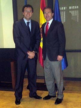 Miguel Ángel Machado y Miguel Marín.