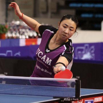 Yanfei Shen, jugadora del UCAM Cartagena. (Foto: Íñigo Villacieros)
