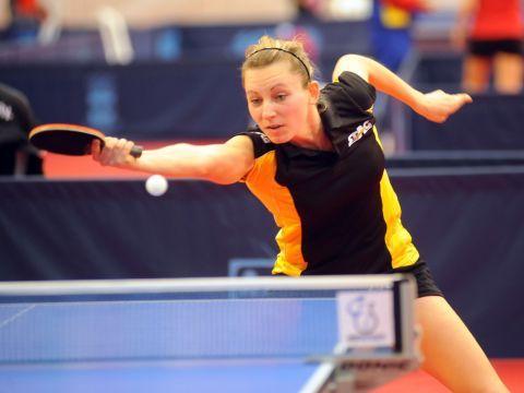 Galia Dvorak será una de las representantes españolas en este ITTF World Tour  de Hungría. (Foto: Pablo Rubio)