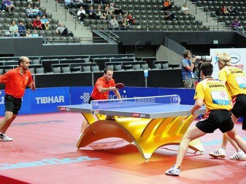 Alfredo Carneros y Carlos Machado en competicón internacional. (Foto: Juan Carlos Paramá)