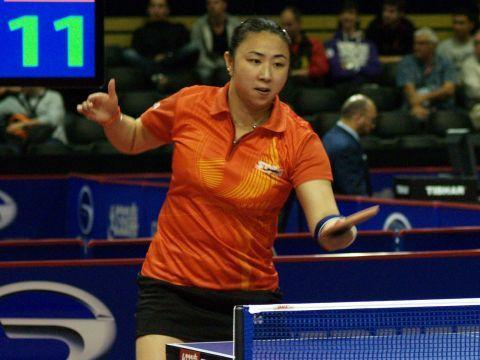 Yanfei Shen, jugadora del UCAM Cartagena.