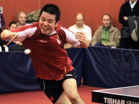 Shi Weidong, jugador del San Sebastián de los Reyes. (Foto: Íñigo Villacieros)