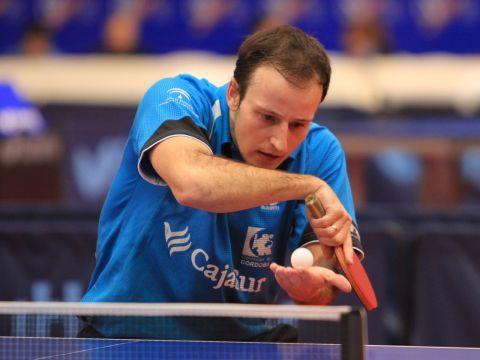 Carlos Machado, jugador del CajaSur Priego, en el pasado Campeonato de España de Almería.
