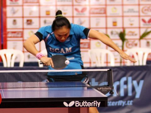 Zhu Fang, jugadora del UCAM Cartagena.