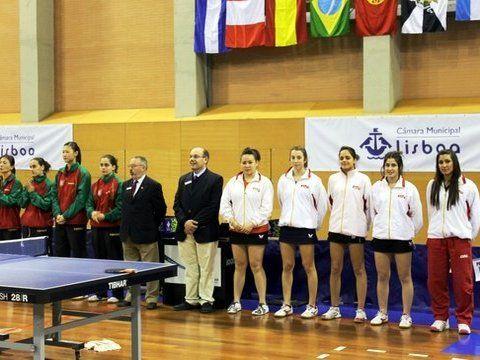 Instantes previos a la final femenina. (Foto: Martin F.)