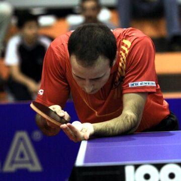 El jugador del CajaSur Priego Carlos Machado realizó hoy una gran actuación haciendo los dos puntos de España