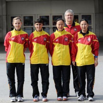 Equipo femenino en el Mundial de Alemania 2012. (Foto: Mari Paz Cordo)