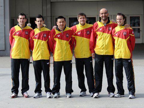 Equipo Masculino en el Mundial de Alemania 2012. (Foto: Mari Paz Cordo)