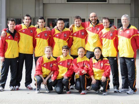 Los preolímpicos españoles junto al resto de compañeros en el pasado Mundial de Alemania. (Foto: Mari Paz Cordo)