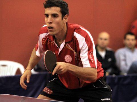 Álvero Robles, jugador del San Sebastián de los Reyes. (Foto: Íñigo Villacieros)