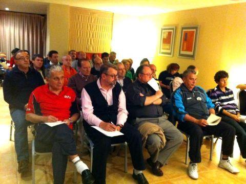 Un momento de la Asamblea celebrada en Almería.