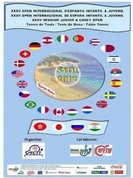 Cartel anunciador del XXXV Open Internacional de España para Jóvenes
