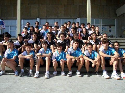 Foto de grupo de los representantes españoles.