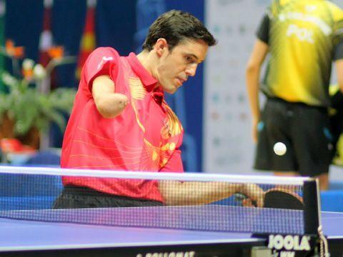 José Manuel Ruiz se hizo con una plata en equipos y un oro en individual.