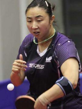 Yanfei Shen en el Open de Japón. (Foto: Tetsu Yamashita en www.ittf.com)