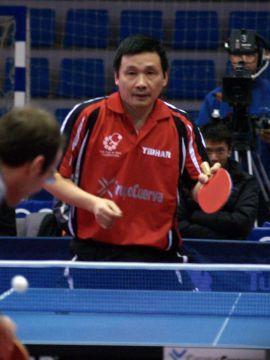 He Zhi Wen en un partido de la pasada temporada Foto: Dele