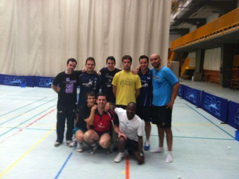 Concentración del equipo de Pie en Madrid